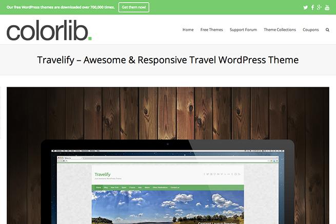 Travelify   Awesome   Responsive Travel WordPress Theme   Colorlib