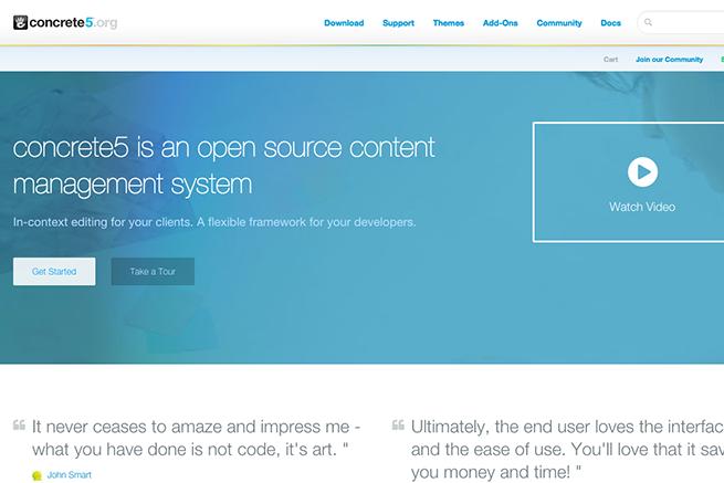 concrete5   Free CMS   Open Source Content Management System