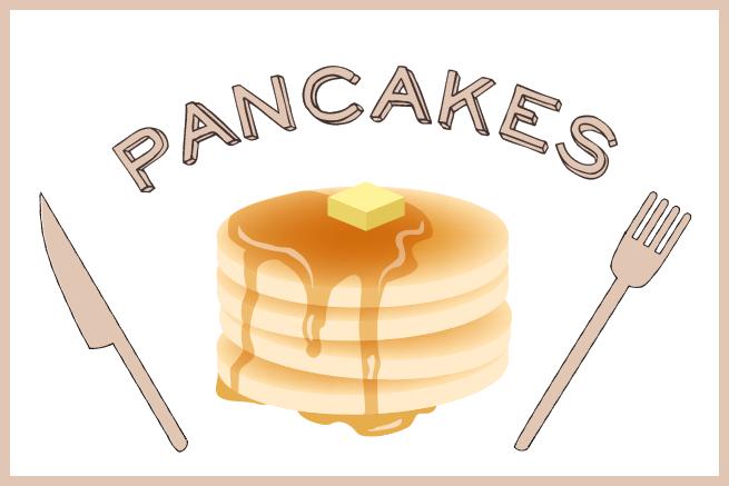 Illustratorのグラデーションメッシュ機能でパンケーキイラストを作成