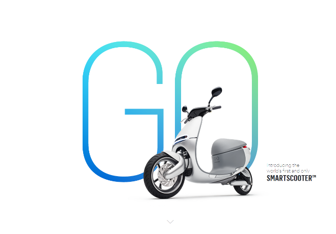 Gogoro   Introducing the world s first and only Smartscooter™