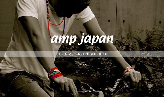 amp japan Official Web site