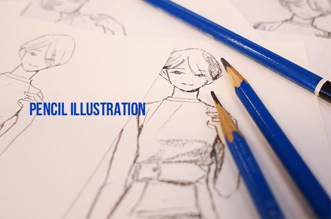 アナログ絵鉛筆画を描こう画材選びのポイントとスキャンするときの