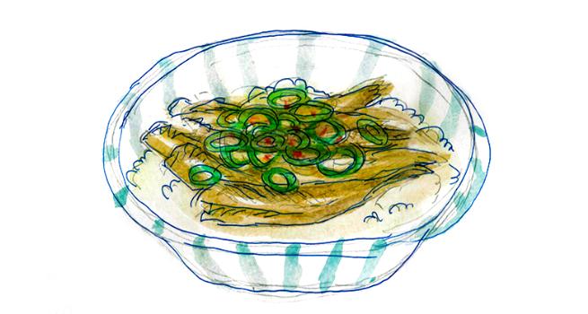 オイルサーディン丼3