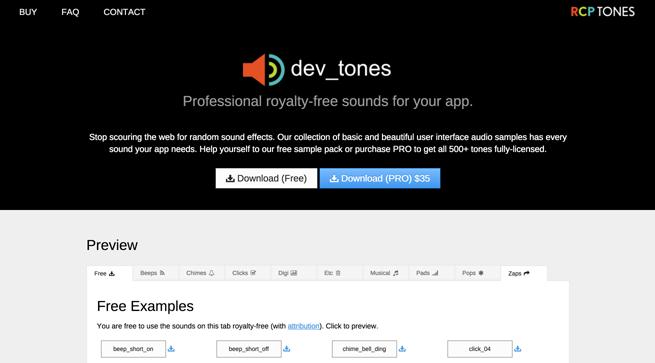 Dev-Tones