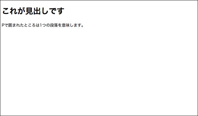 サンプルのHTMLですのコピー