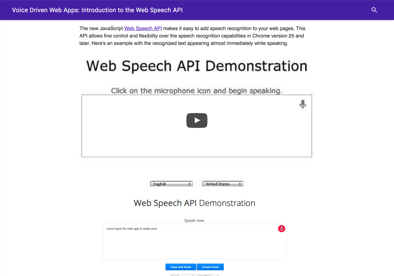 ChromeWebSpeechAPI