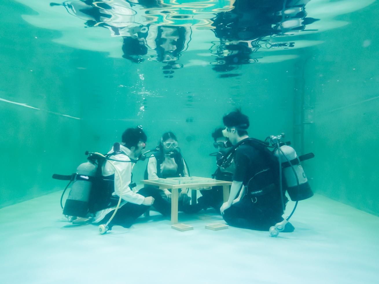 水中で麻雀をやるとどうなるの?...