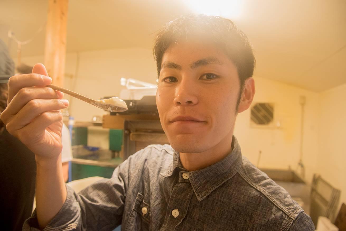 36枚目_豆腐作り