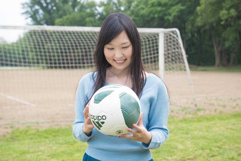 浦和のサッカー場にきています