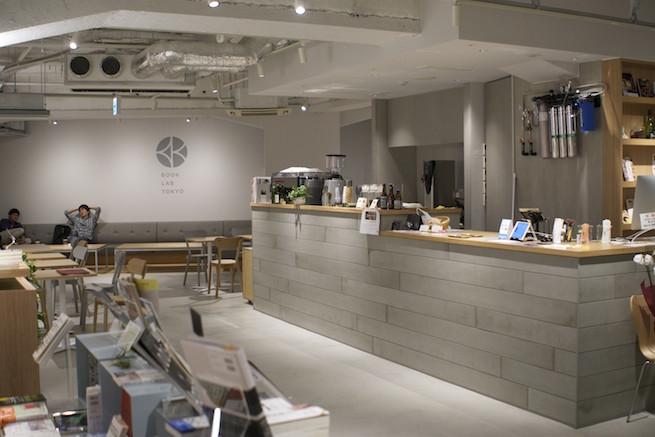 電源&Wi-Fiカフェ BOOK LAB TOKYO