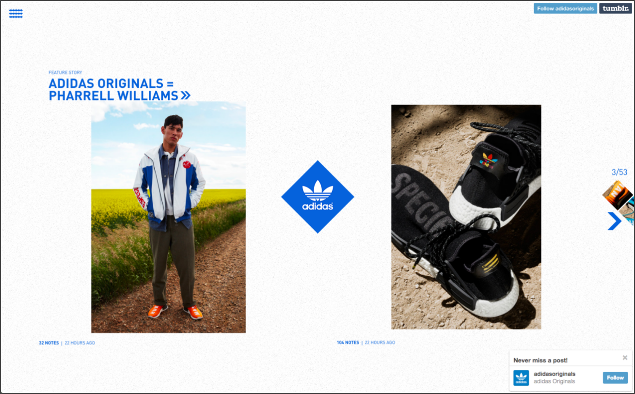 adidas originalsのTumblr画像