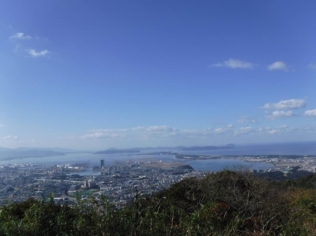 ▲福岡県新宮町の風景