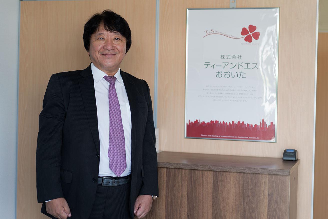 株式会社ティーアンドエス 代表取締役の稲葉孝政さん
