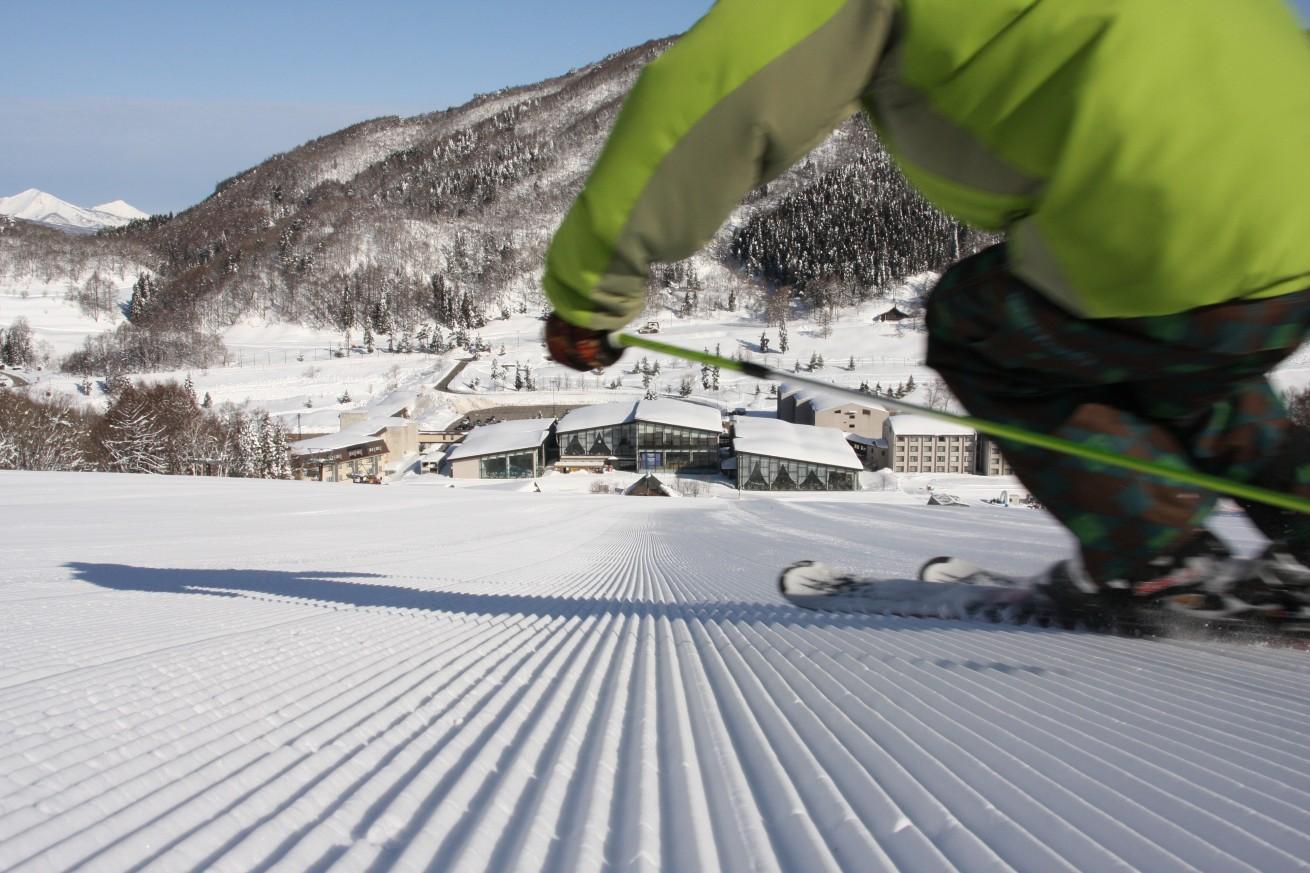 スキー場ホテル直結IMG_5106
