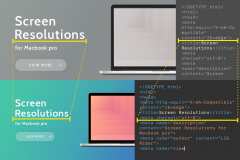 MacBookPro の画面解像度を大きくして作業能率を大幅アップ!