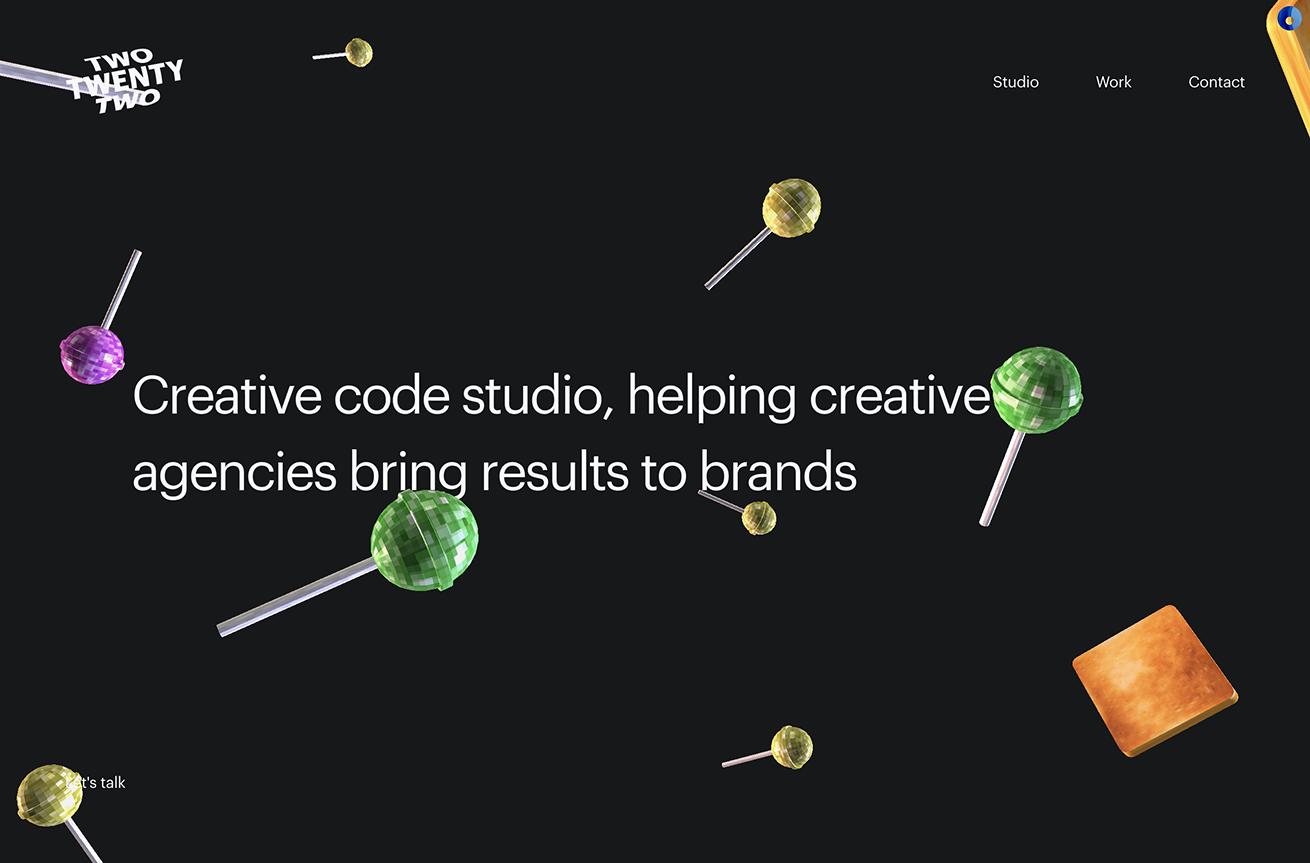 Twotwentytwo   Creative studio