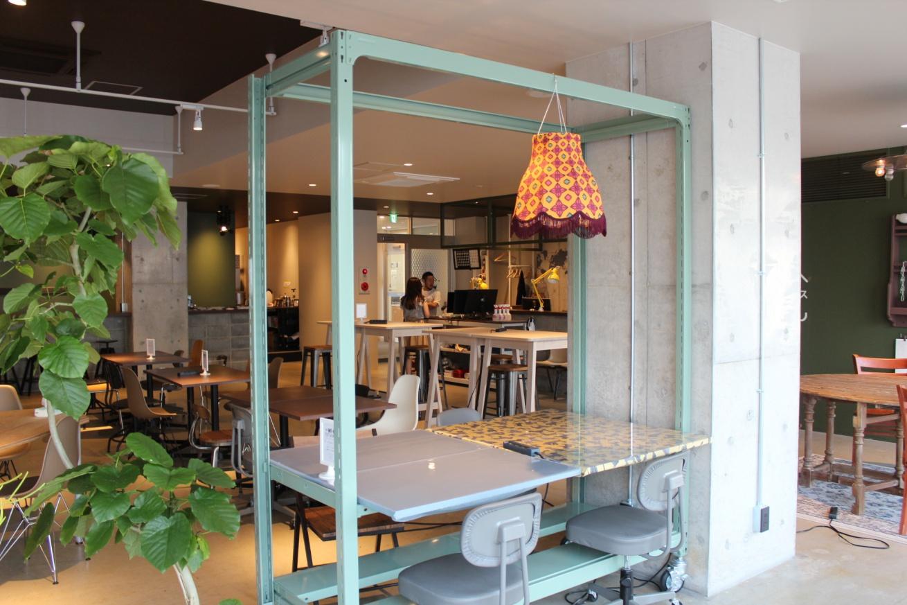 いいオフィス広島のオープンスペースの写真