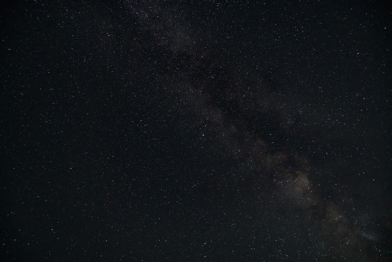 ガクが撮影した満点の星空と天の川
