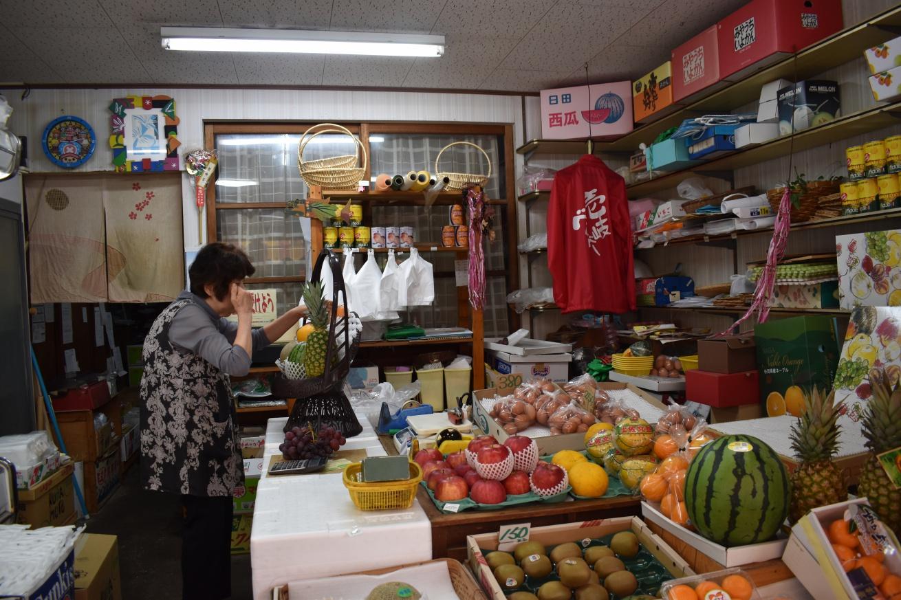 壱岐島の勝本にある「下條くだもの店」の写真