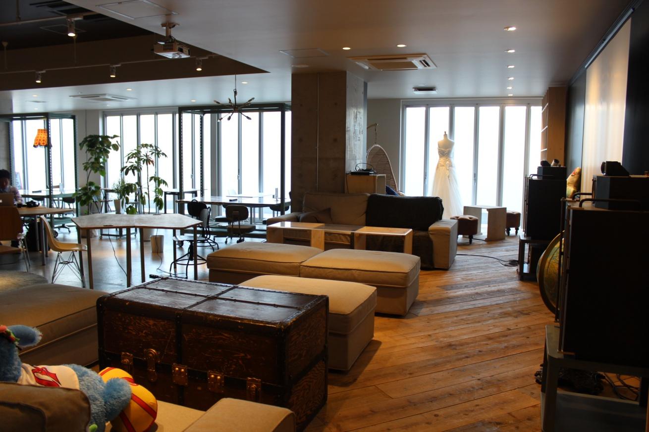 いいオフィス広島の内装の写真