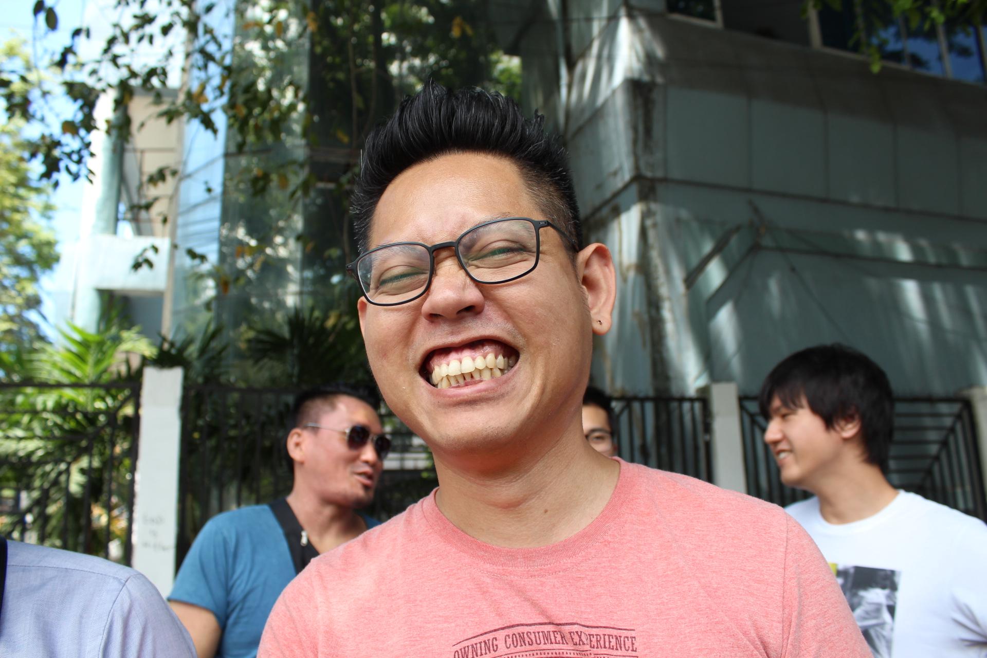 LIGフィリピンのエンジニア、パトリック