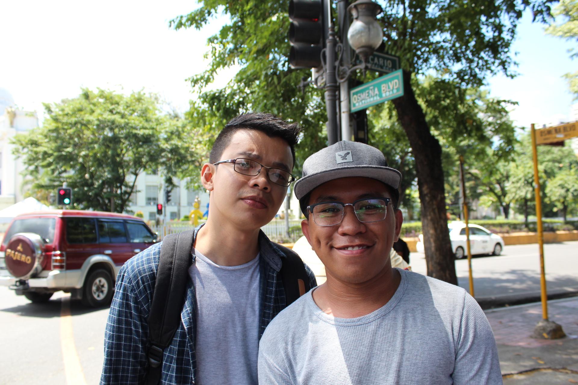 LIGフィリピンで働くJoshとMark