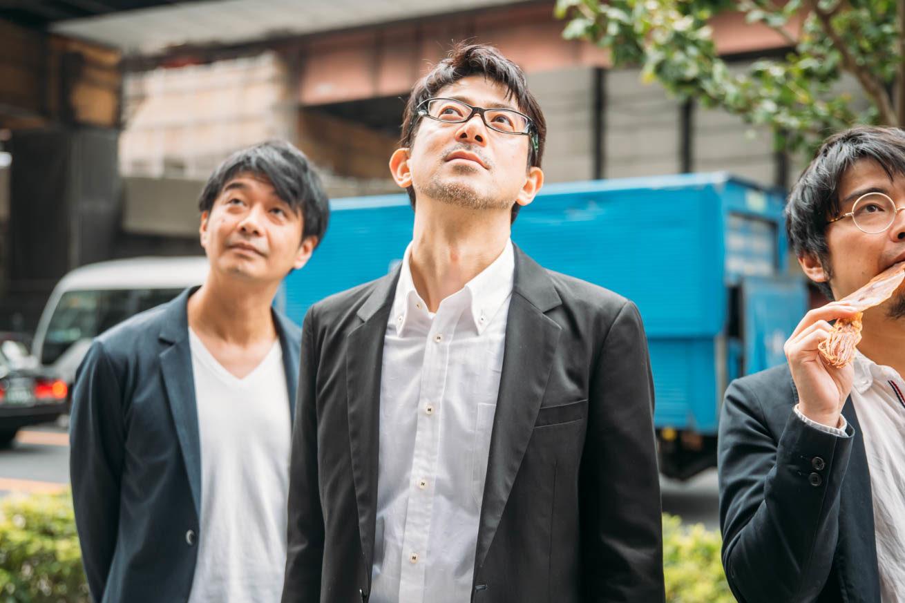 LIGに到着するNHN JAPAN株式会社の3名