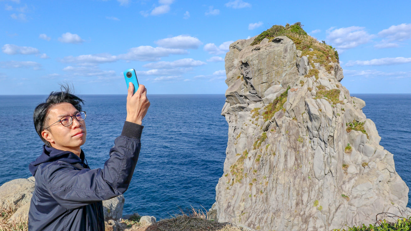 猿岩とライターの柴さんの写真