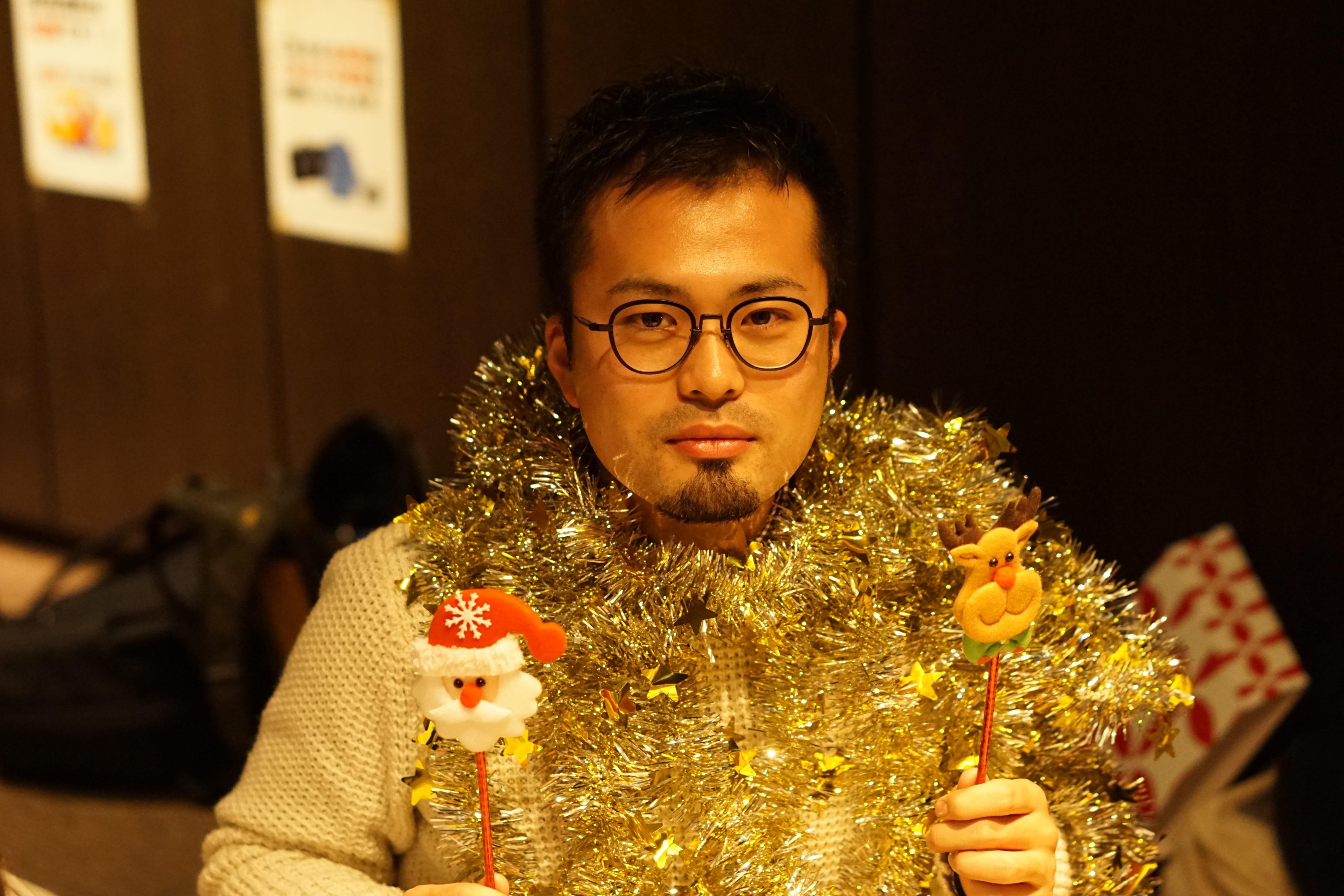クリスマスおじさん