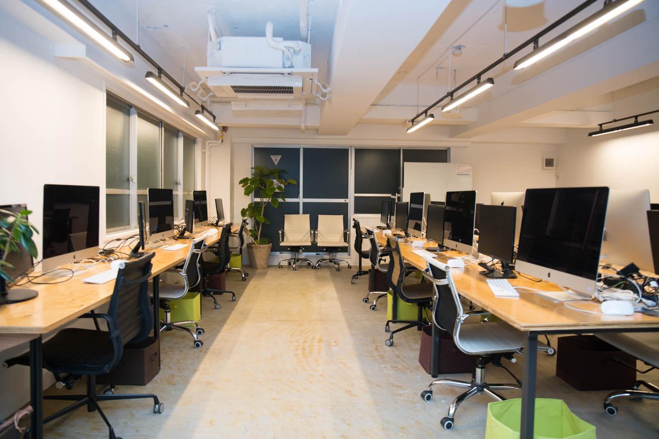 デジタルハリウッドSTUDIO上野 by LIG・4階教室