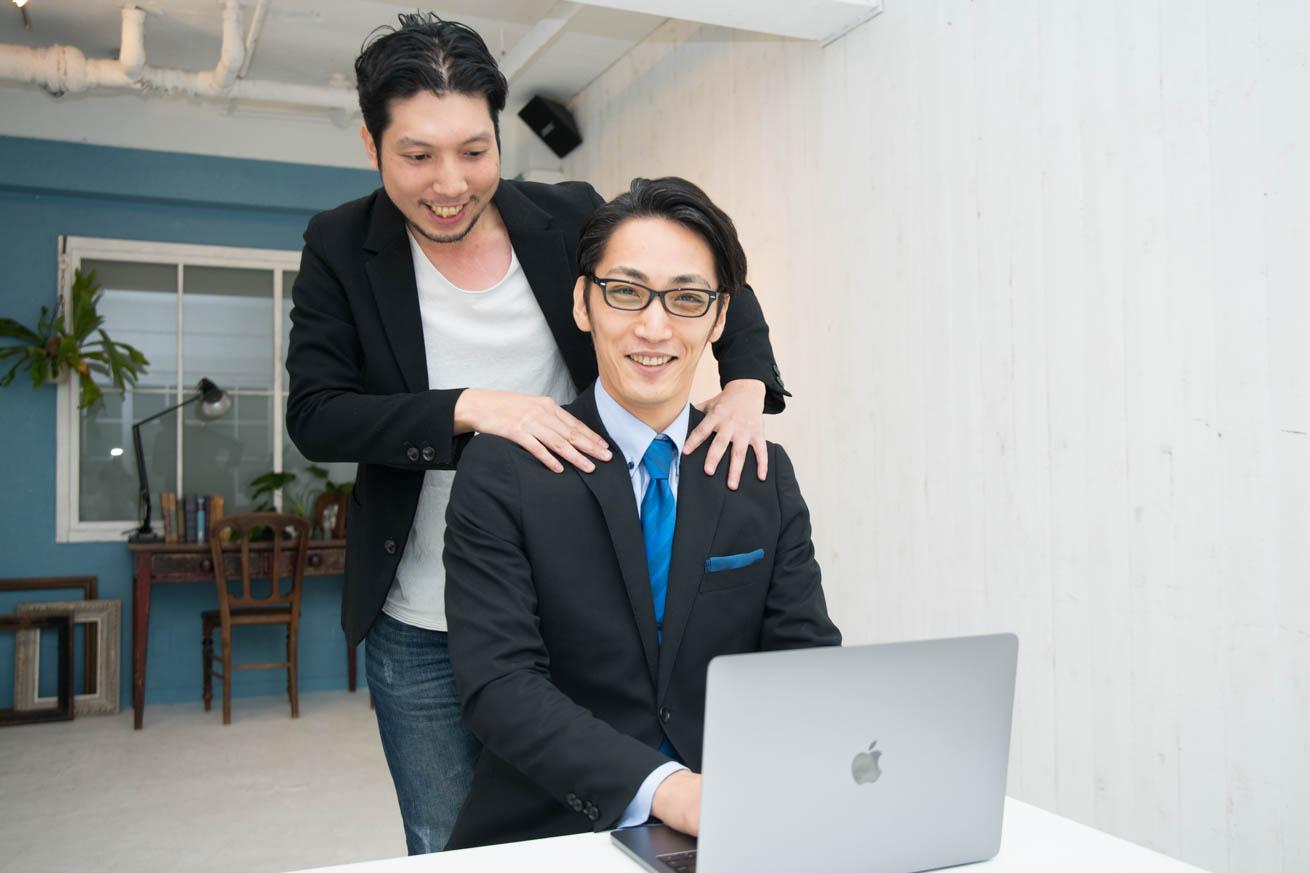 議事太郎と紳さん