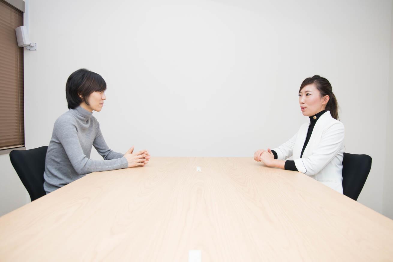 渡辺さんと柴田さん対面