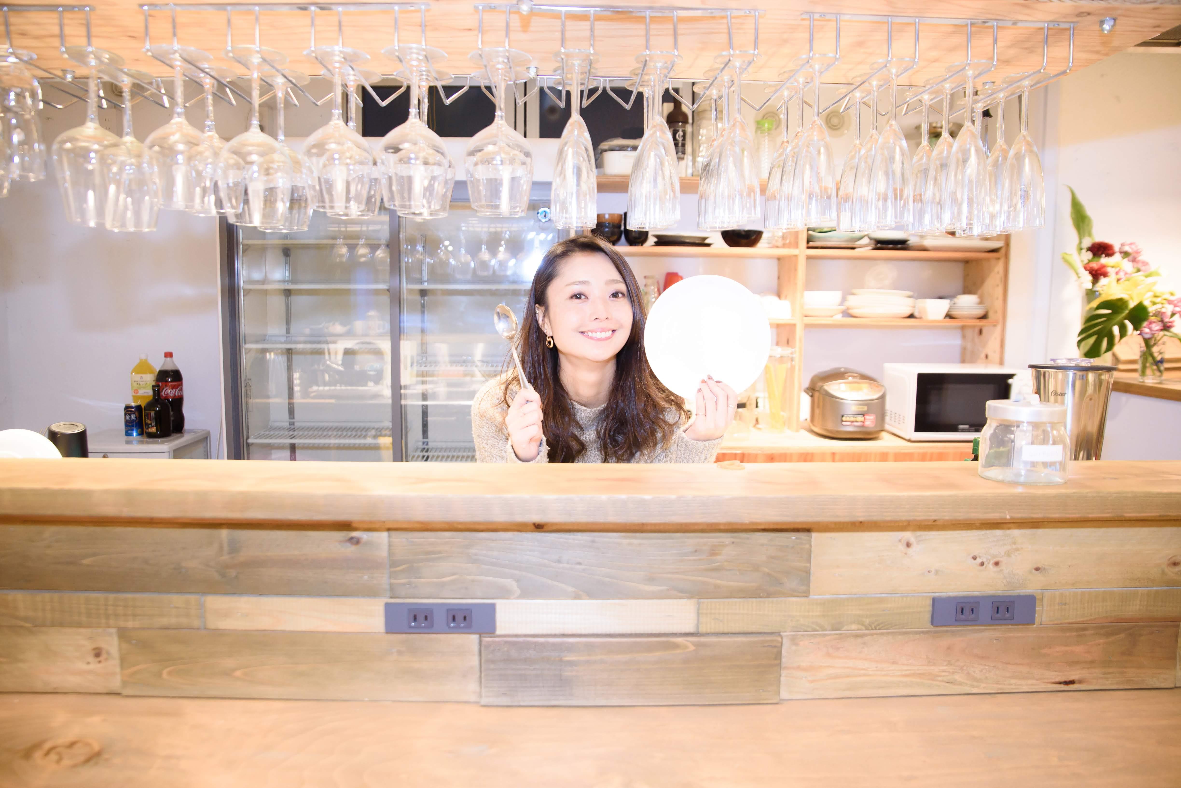 いいオフィス上野のキッチン紹介