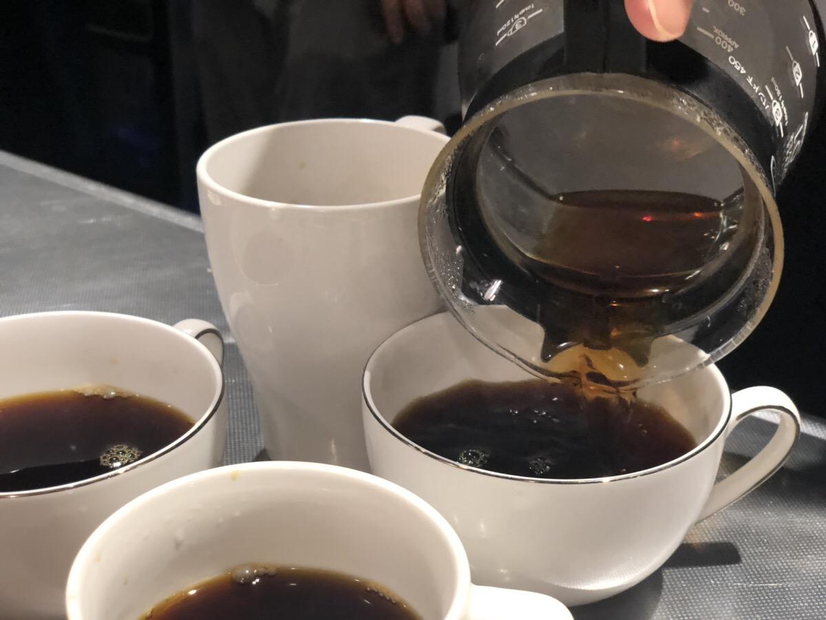 コーヒー、ごちそうさまです。