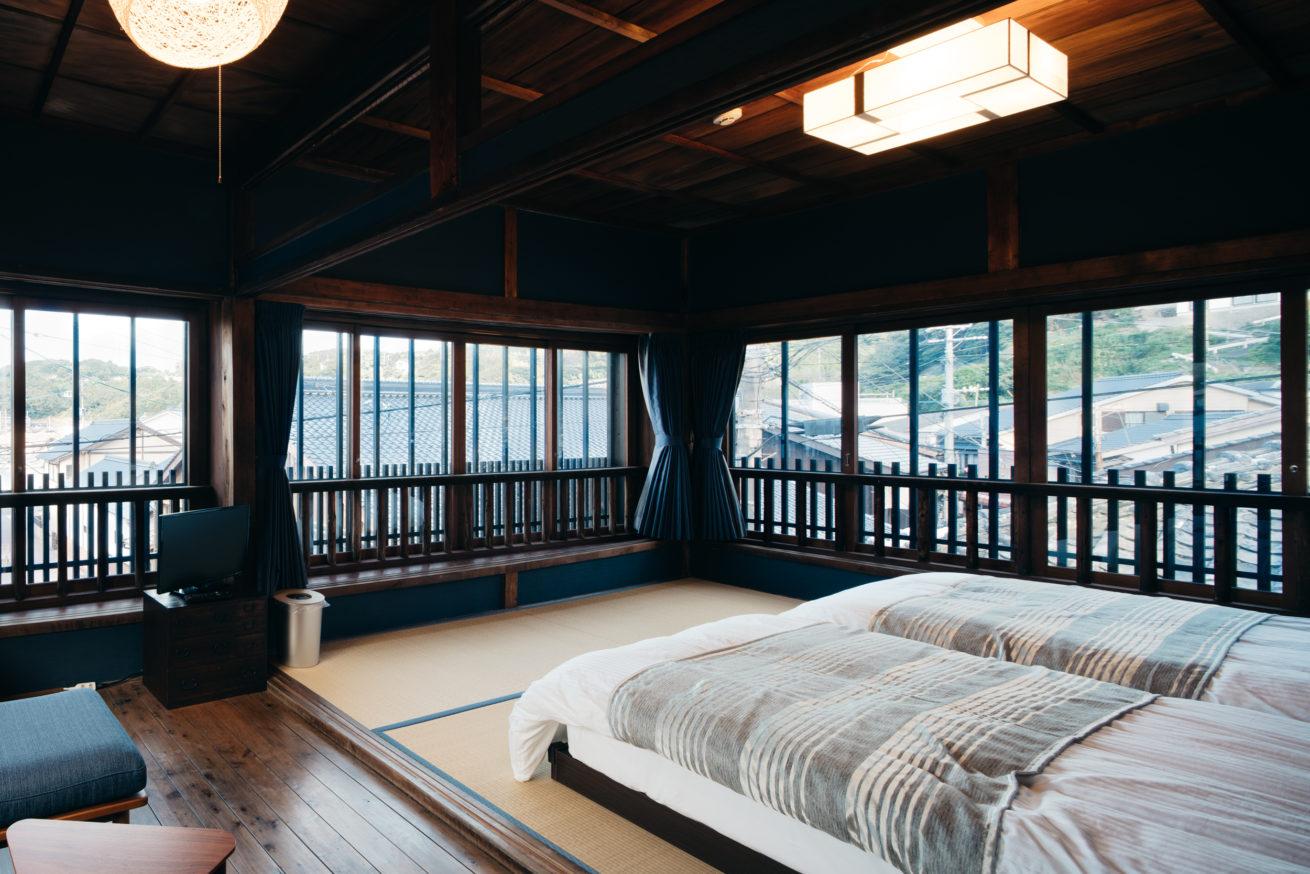 ゲストハウスLAMP壱岐の個室の写真