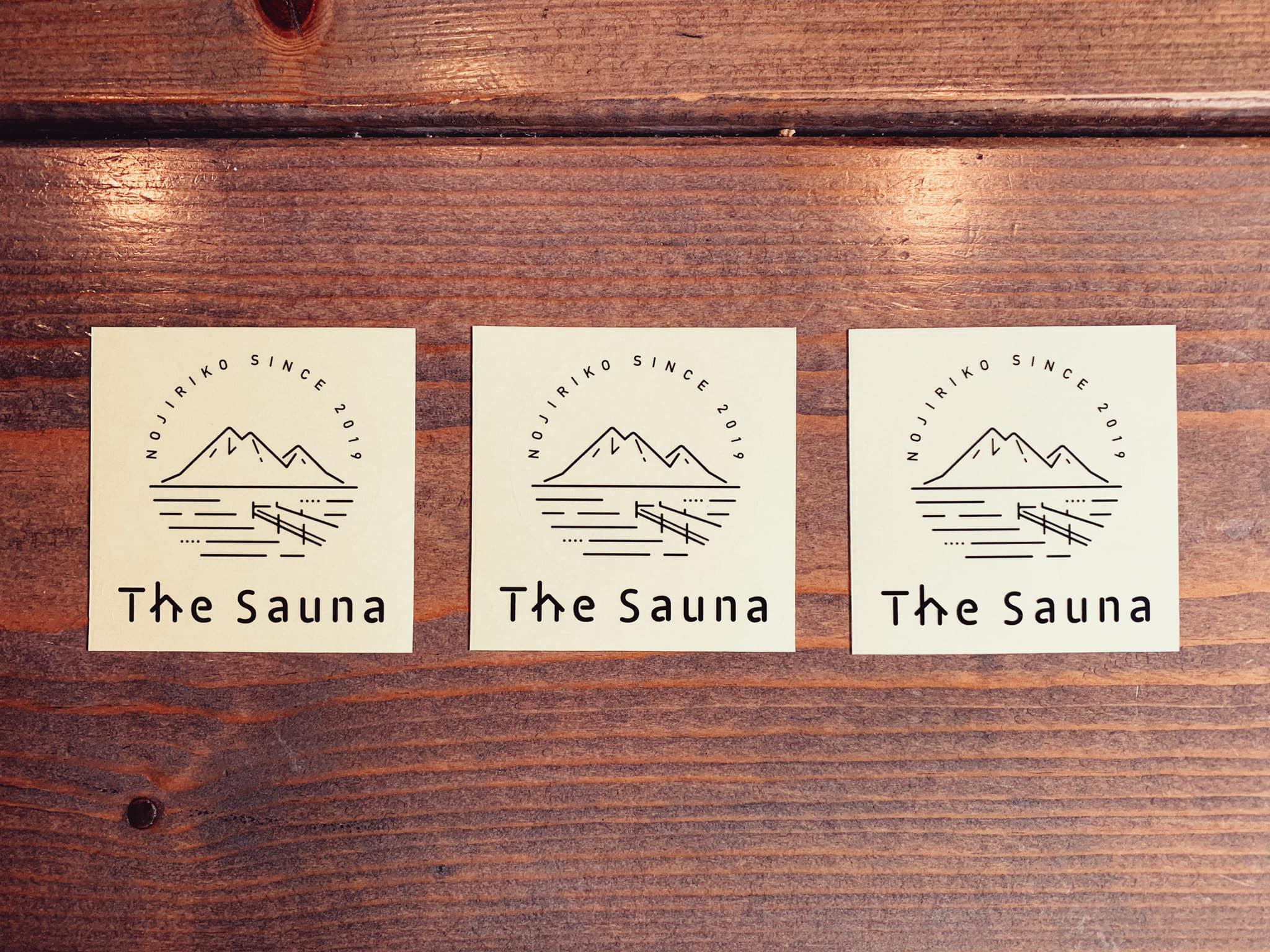 The Saunaステッカー