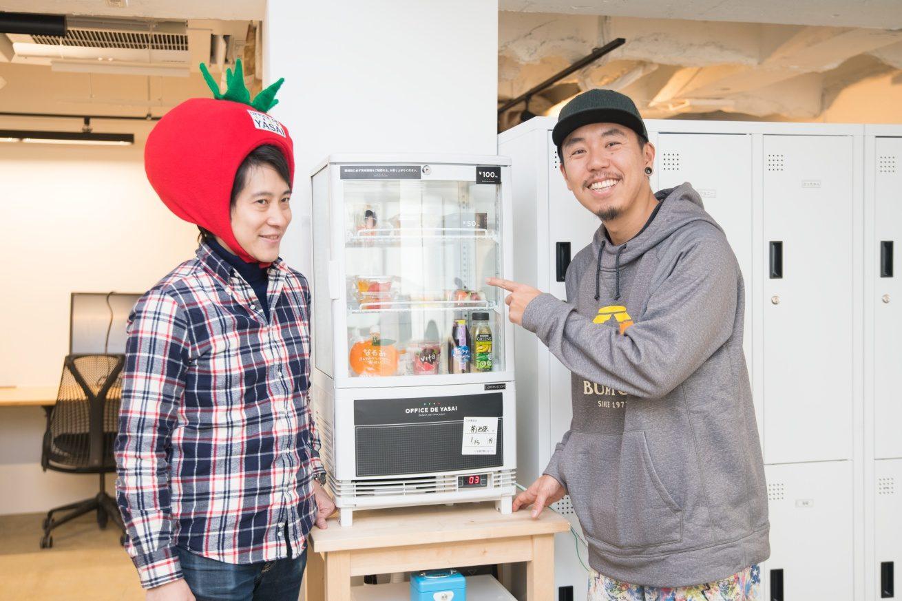 LIG社長ゴウとKOMPEITO代表川岸さん