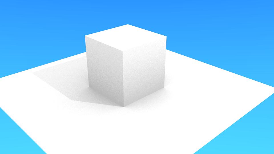 Blenderで世界に明かりを灯したレンダリング