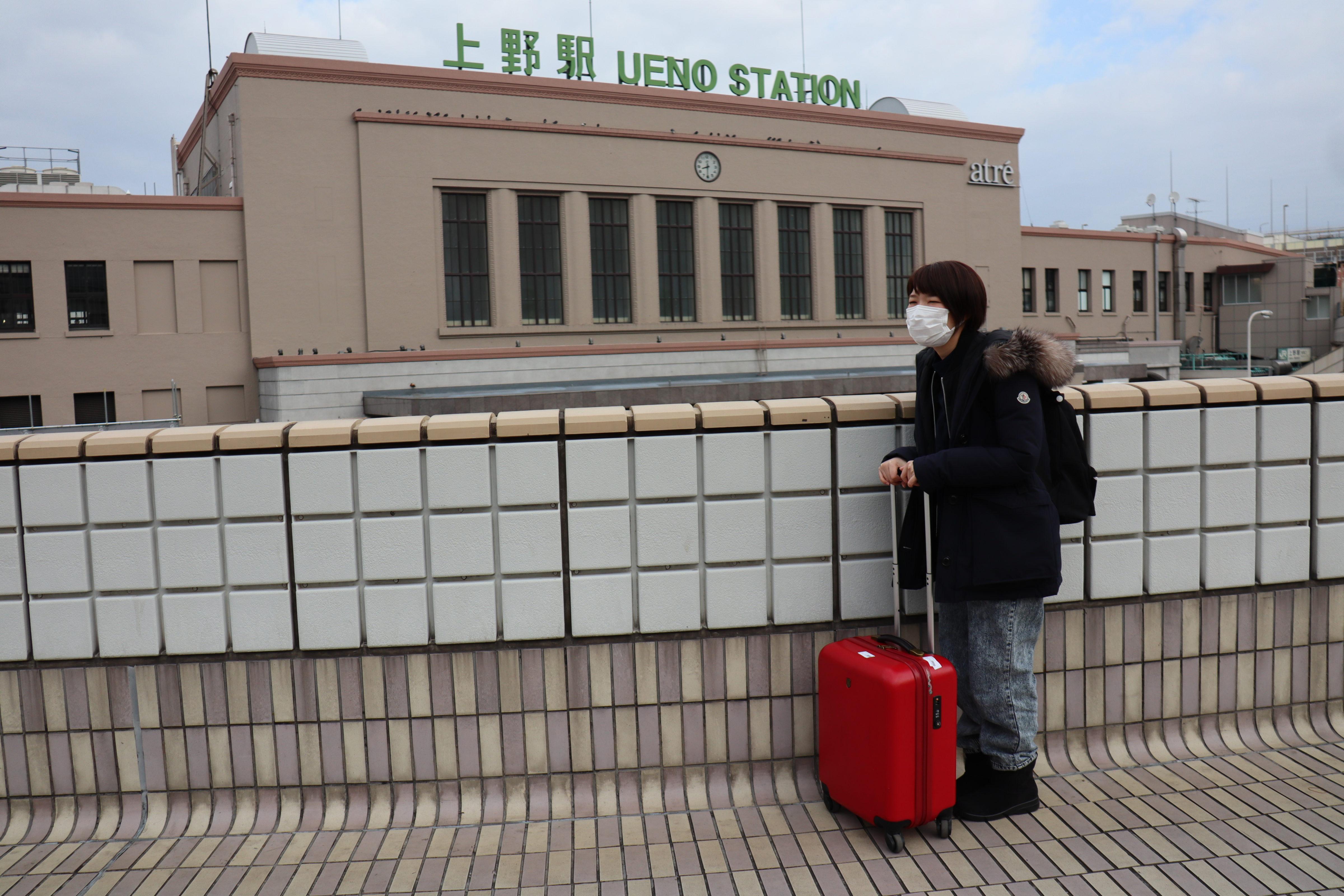 上野駅前に集合
