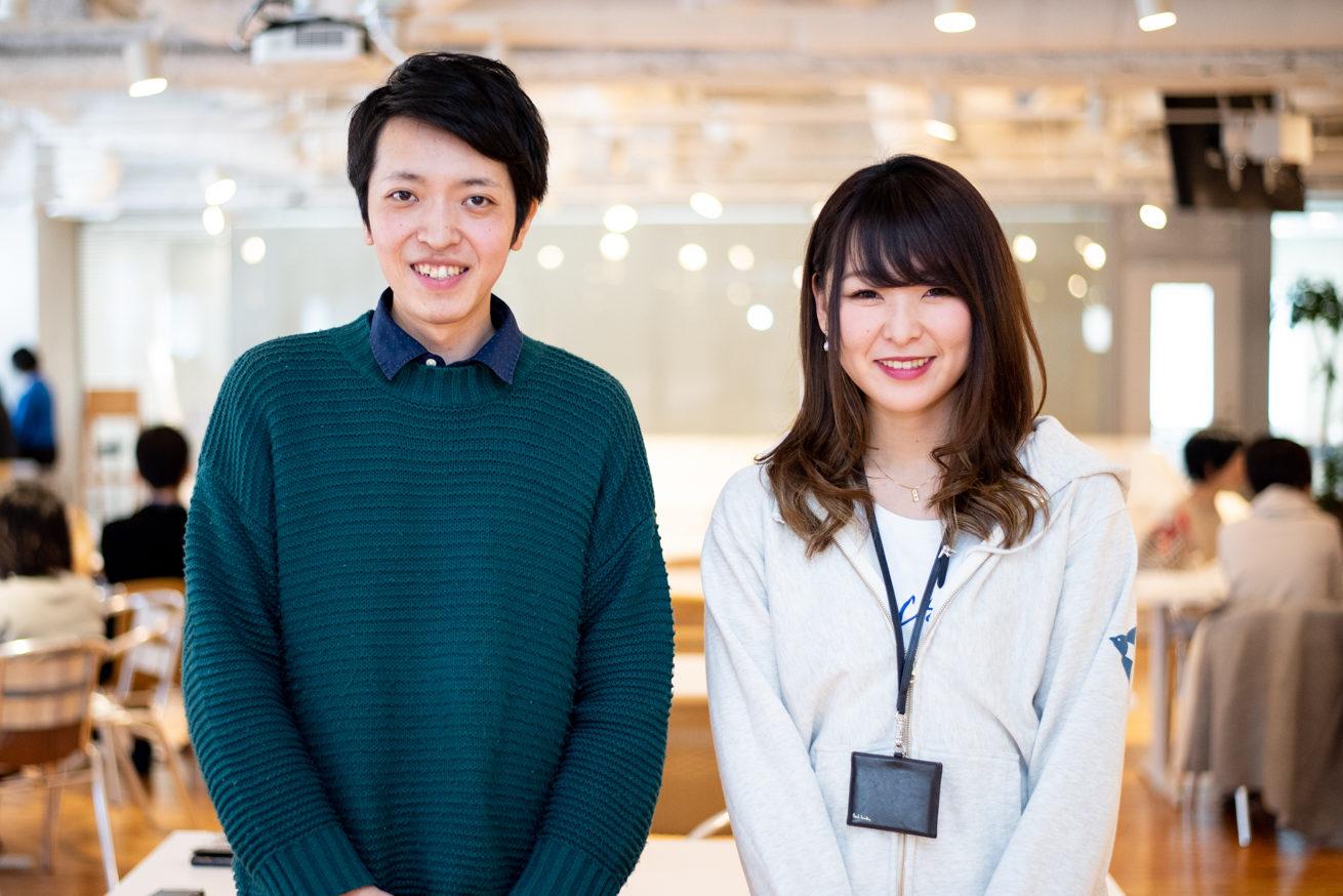 バンビとサポート企画の川後田さん