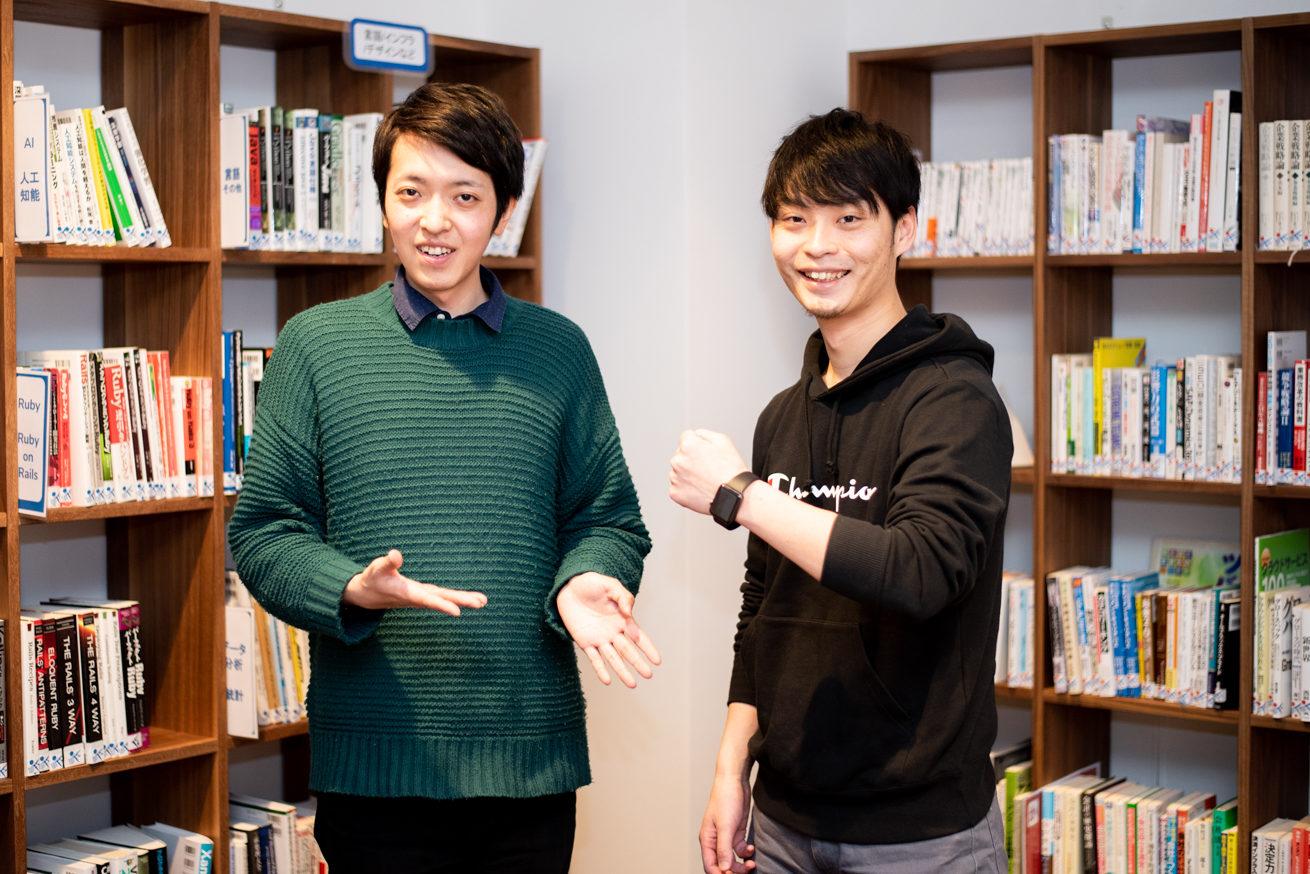 バンビとエンジニアの小手川さん