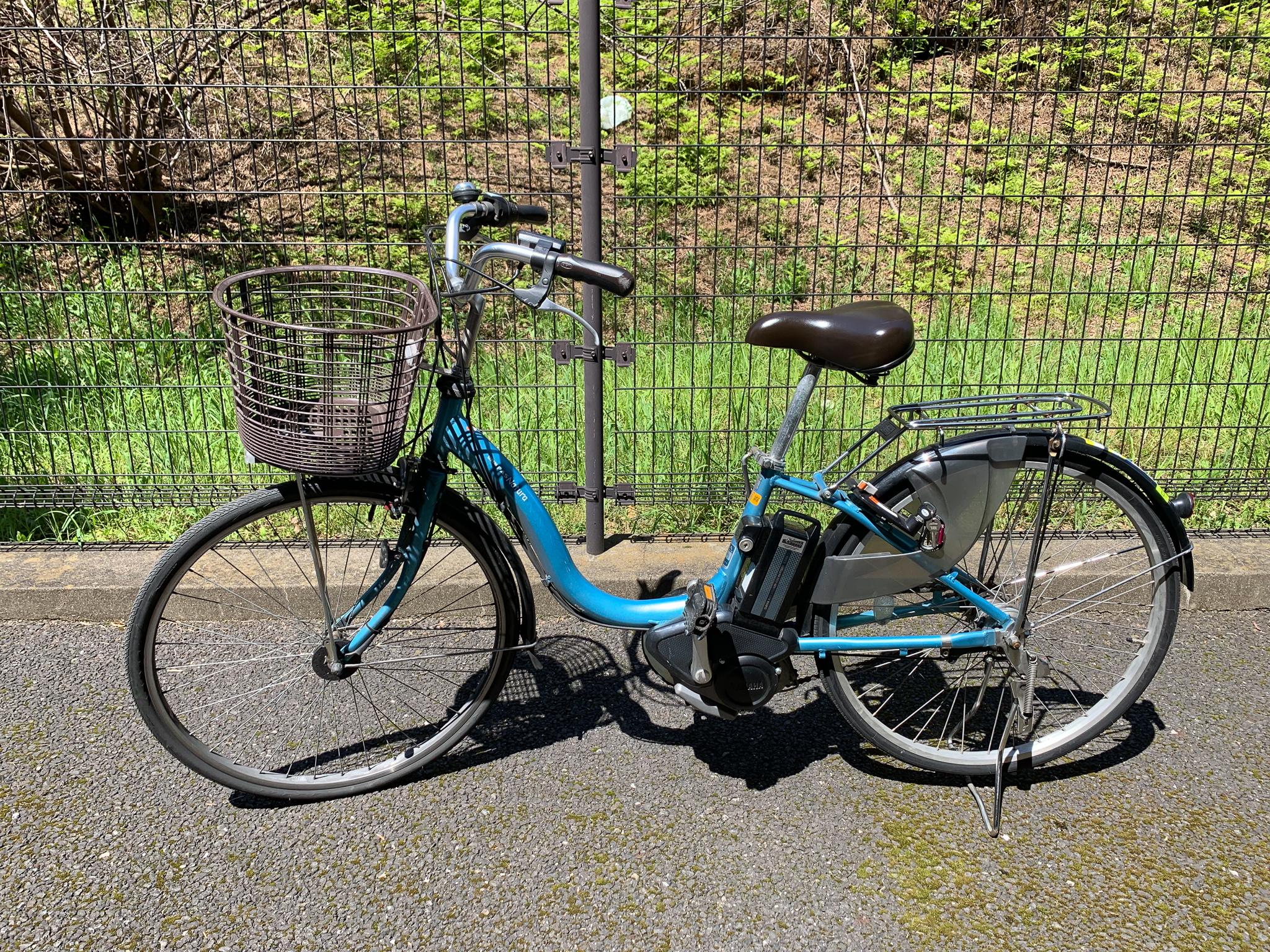 電動自転車ヤマハのPasシリーズ