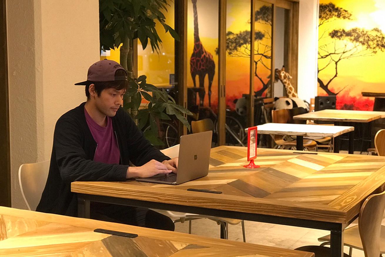 いいオフィス上野の夜ドロップイン
