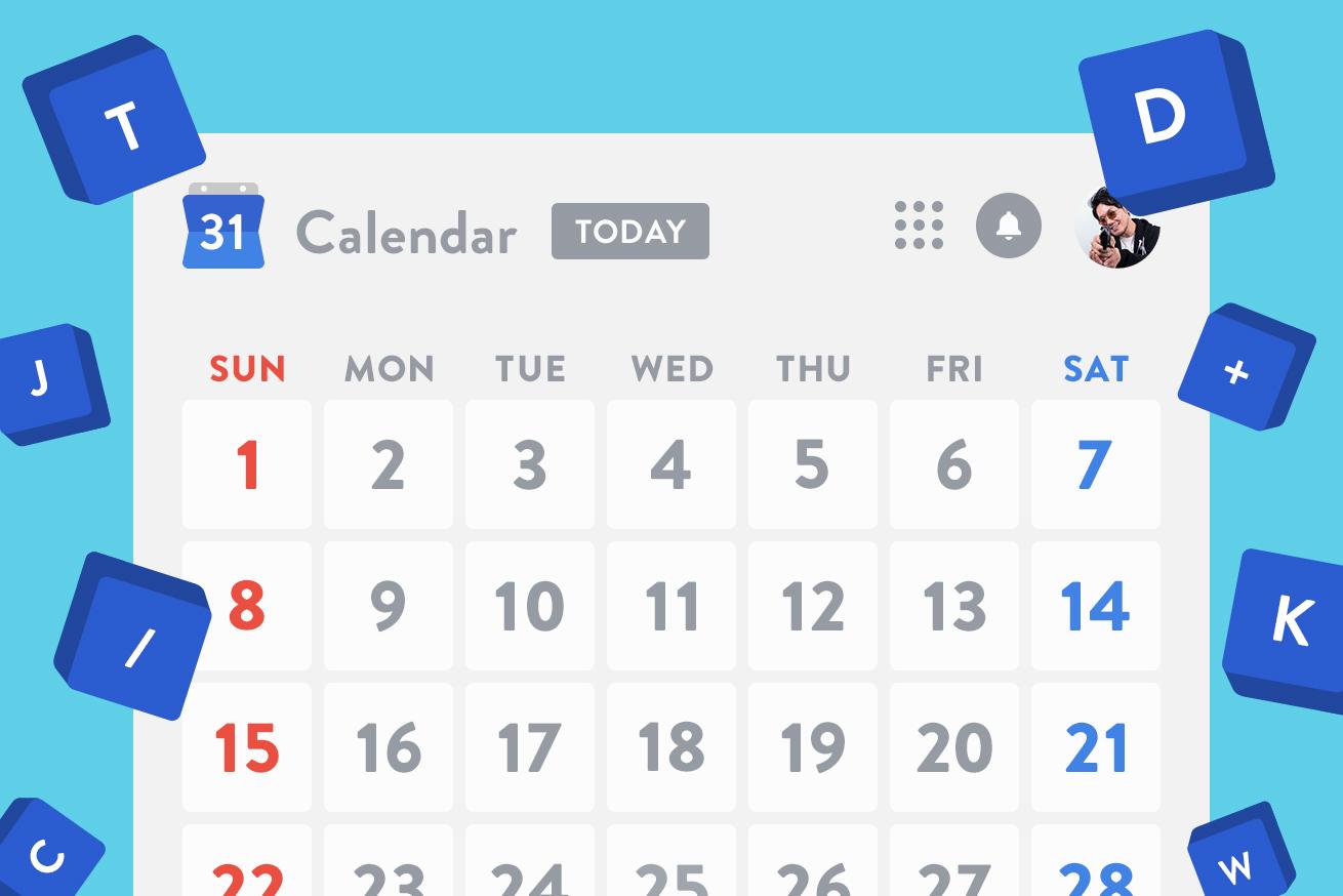 神速!Googleカレンダーのショートカット操作術!
