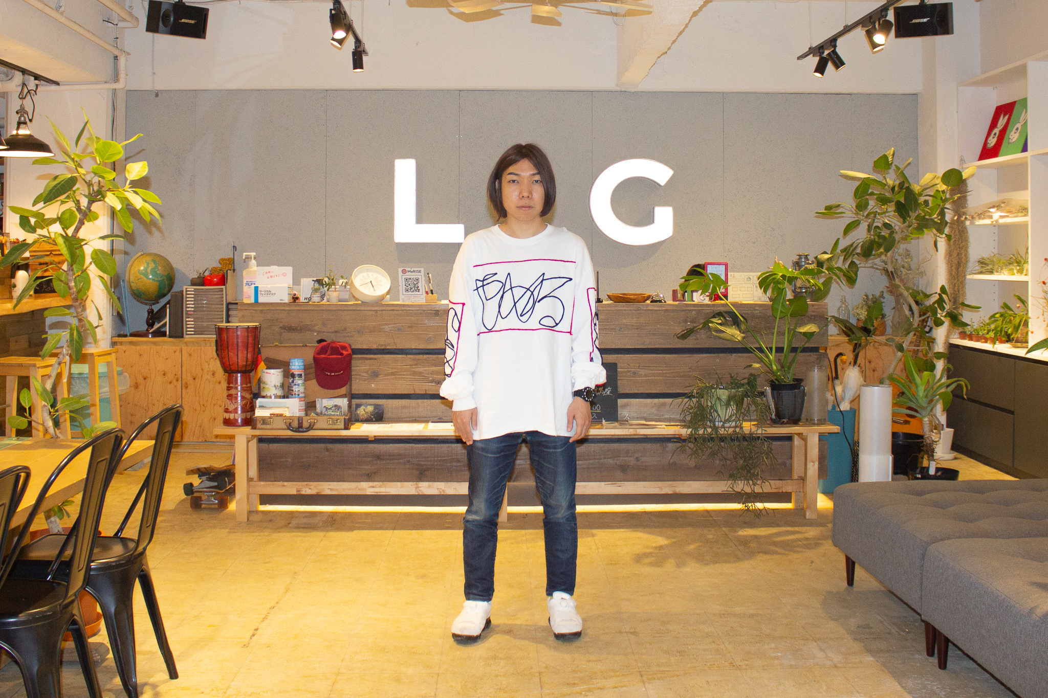 LIG新御徒町オフィスに佇む菊池良さん