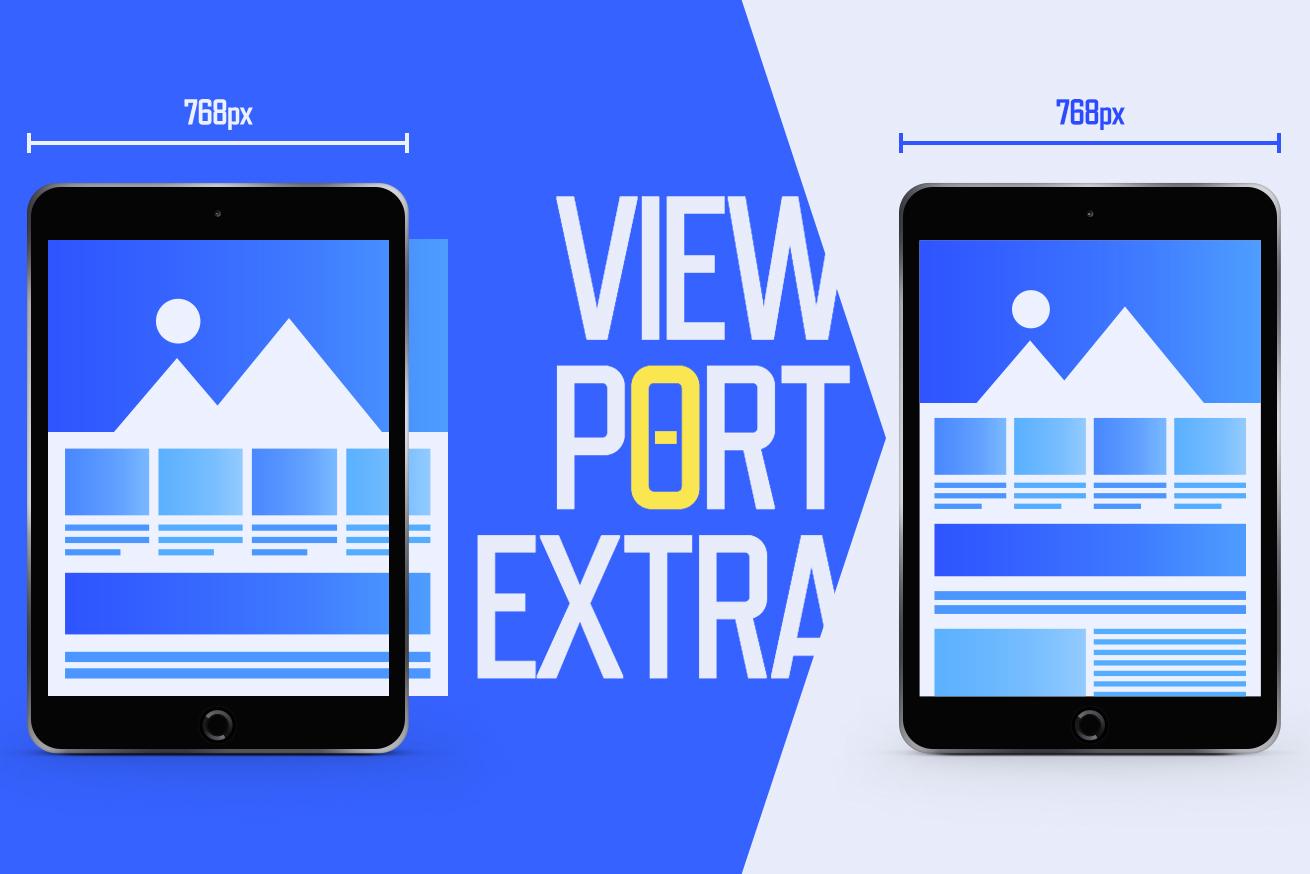 iPadにPC向けデザインを縮小表示するときにも!Viewport Extraで手軽に縮小表示[2]
