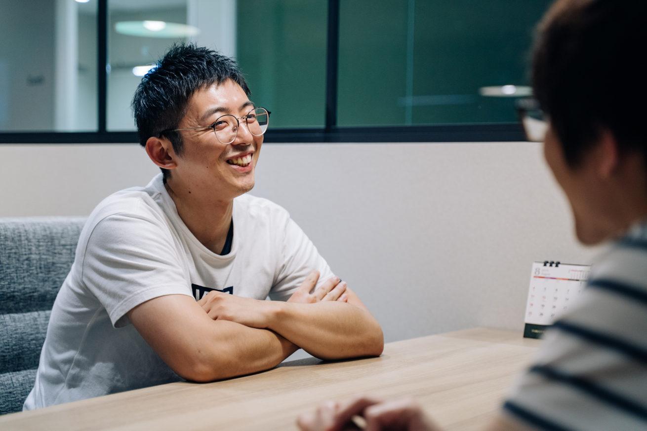 ヤノさんの笑顔の写真