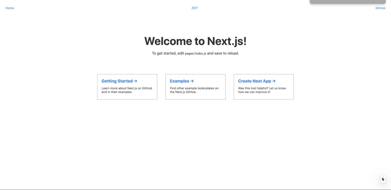 Next.jsを勉強してみる その① 〜何も考えず環境構築編〜