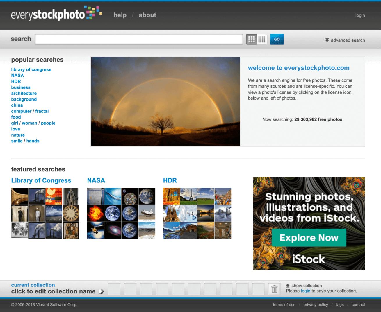 「everystockphoto」のサイトイメージ画像