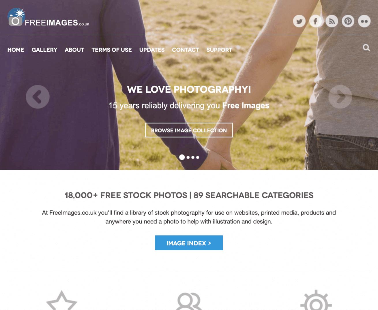 「Free-Images」のサイトイメージ画像